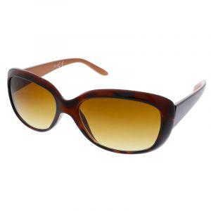 Hnědě zbarvené brýle s gradintem