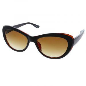 Černé retro brýle