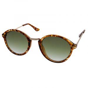 Kulaté brýle s obrubou barvy želvoviny