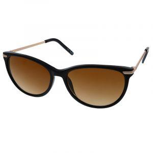 Černé brýle se zlatým pokovením