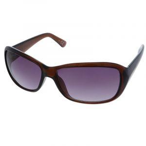 Hnědé oválné brýle Giil