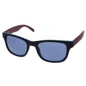Černé brýle s modrými skly