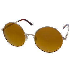 Polarizační brýle zlaté kulaté