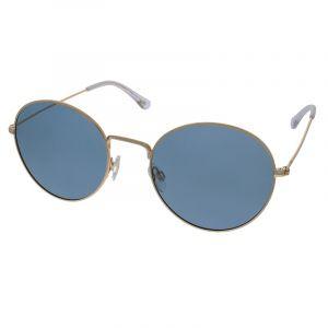 Polarizační brýle kulaté s modrou koncovkou