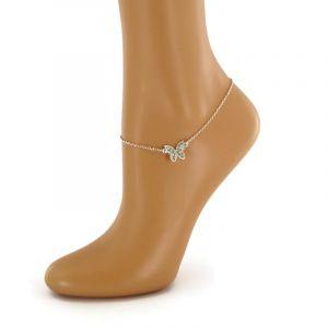 Náramek na nohu s motýlkem GIIL