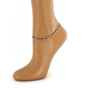 Srdíčkové náramky na nohu