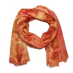 Meruňkový flekatý šátek