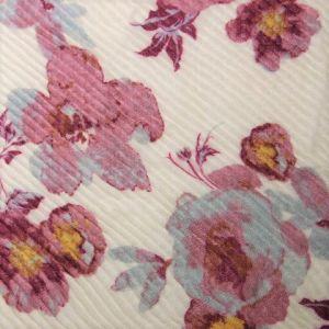 Skládaný šátek s květinami 1