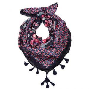 Barevný květinový šátek