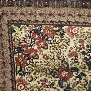 Barevný květovaný šátek 1