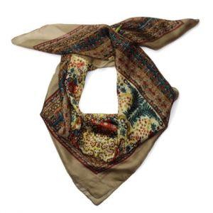 Barevný květovaný šátek