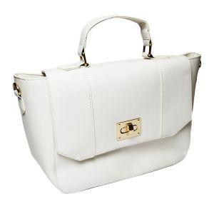 Bílá stylová kabelka