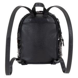 Černý flitrový batůžek 3