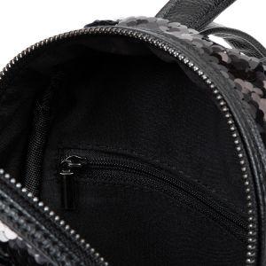 Černý flitrový batůžek 5
