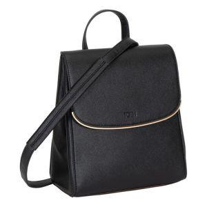 Černý stylový batůžek