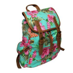 Krásný květinový batoh