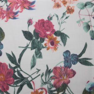 Krásný květinový šátek 1