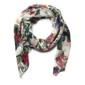 Krásný květinový šátek