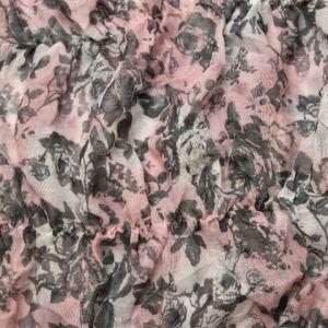 Květinový gumičkový šátek 1