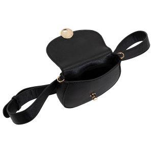 Malá dámská černá taštička 2