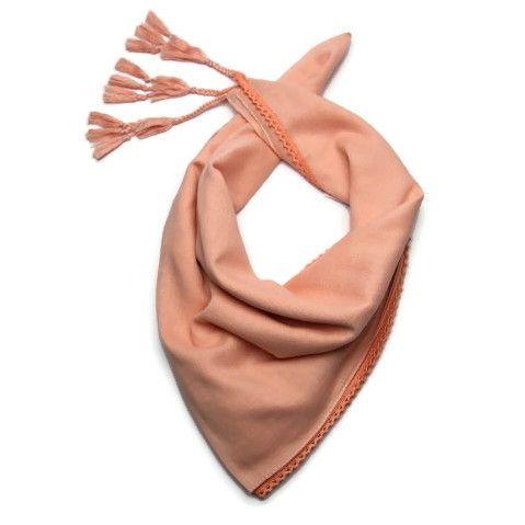 Meruňkový šátek 100% bavlna