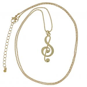 Náhrdelník Zlatý houslový klíč 1