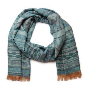 Příjemný oboustranný šátek