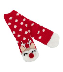 Ponožky se sobem Rudolfem