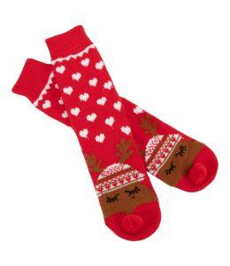 Ponožky sob Rudolf