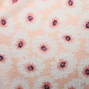 Růžový květinový šátek 1