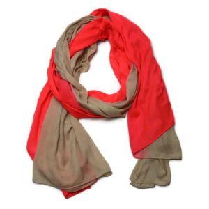 Oranžový šátek/pareo duhový