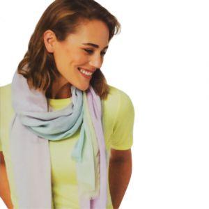 Šátek s barevnými přechody 3