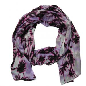 Šátek s palmami