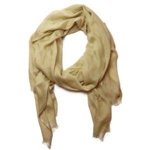 Šátek ve třpytkatém zlatavém ladění