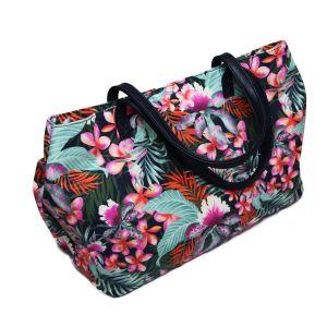 Velká květinová taška