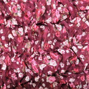 Vínový šátek s gumičkou 1