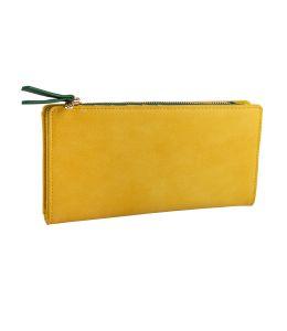 Hořčice žlutá dámská peněženka