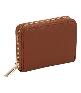 Malá peněženka hnědé barvy