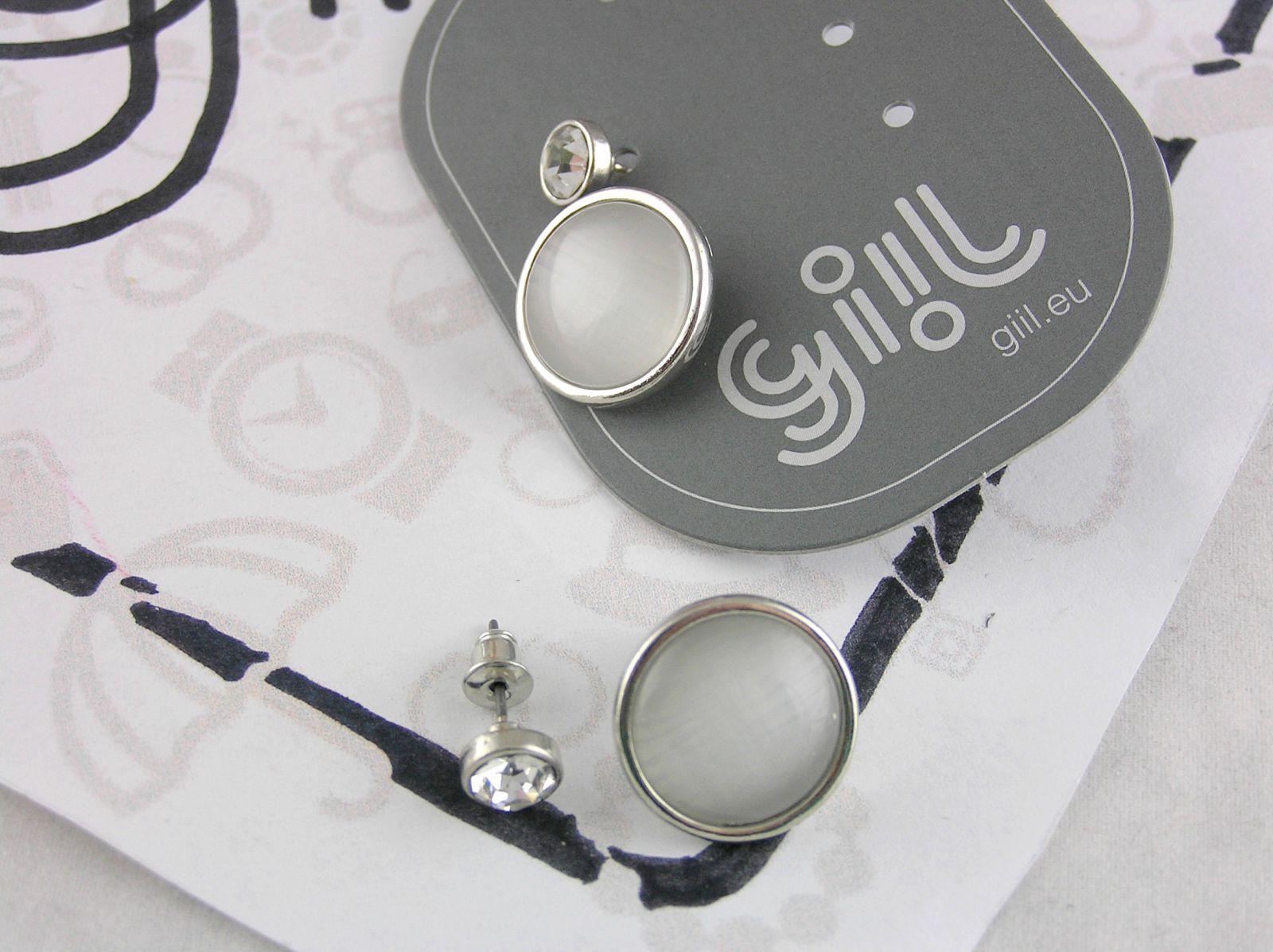 Decentní dva páry náušnic GIIL