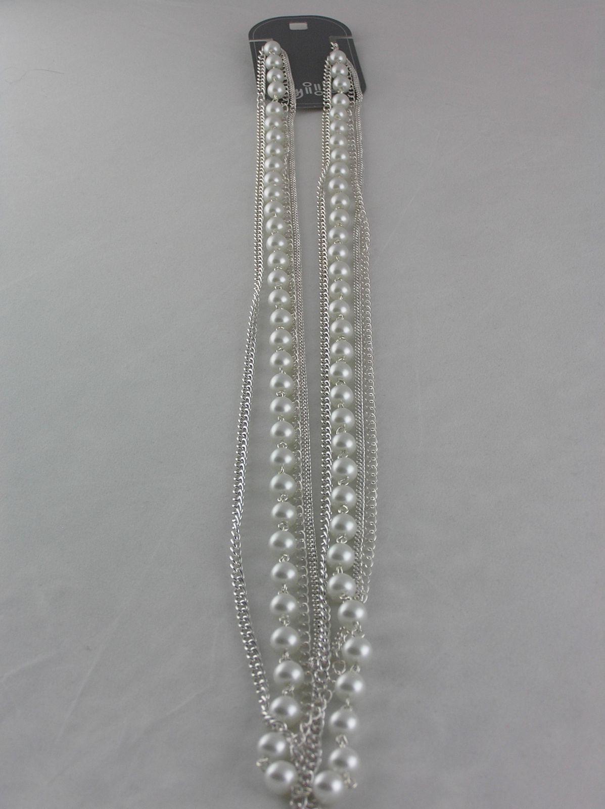 Dlouhý perličkový náhrdelník GIIL