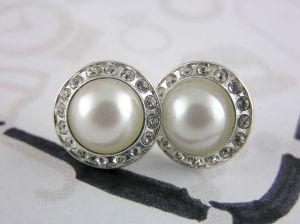 Elegantní perličky s lesklými kamínky