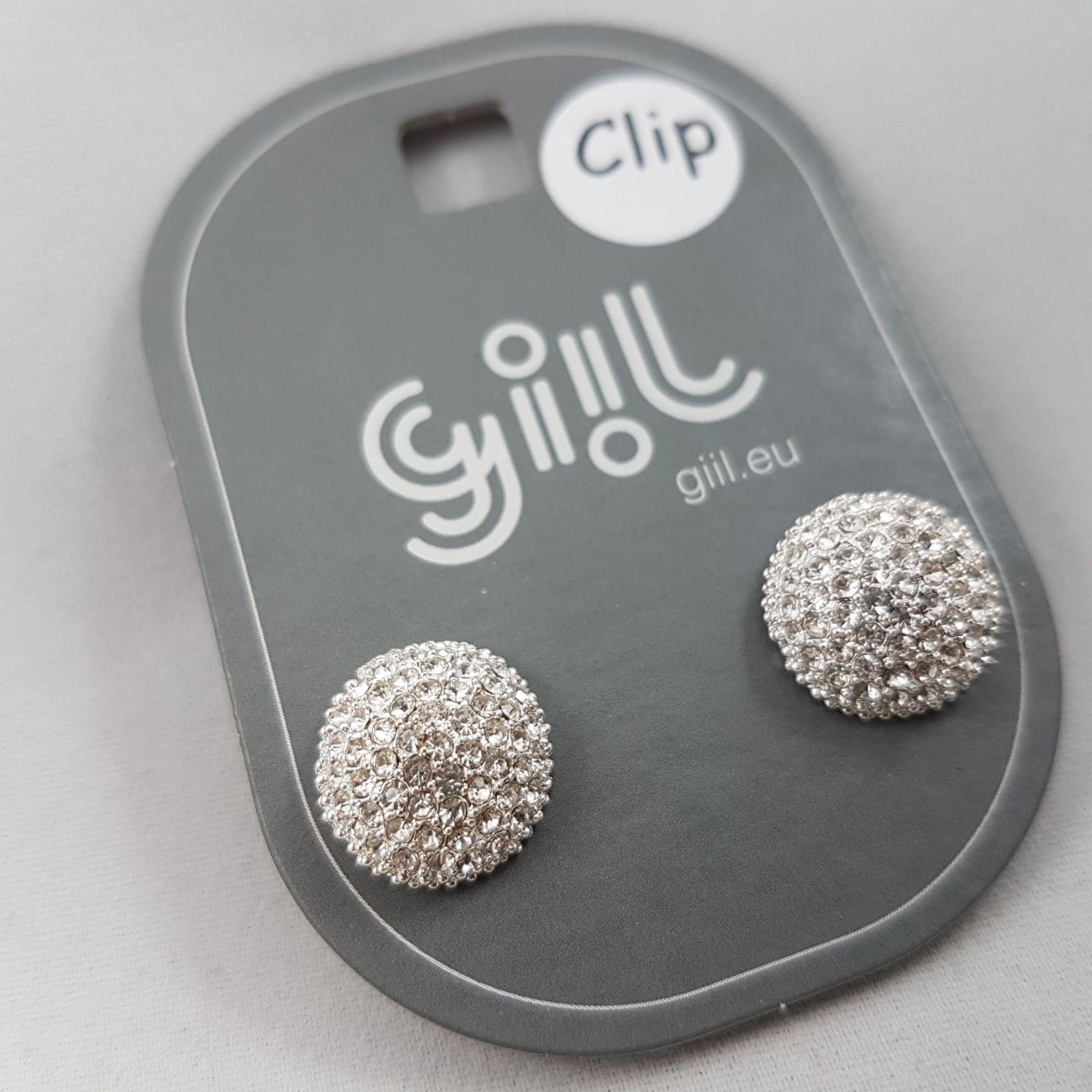Kamínkové Clip náušnice GIIL