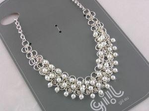 Luxusní perleťový náhrdelník s perličkami