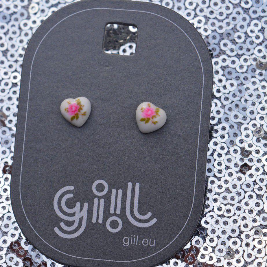 Mini růžova srdíčka GIIL