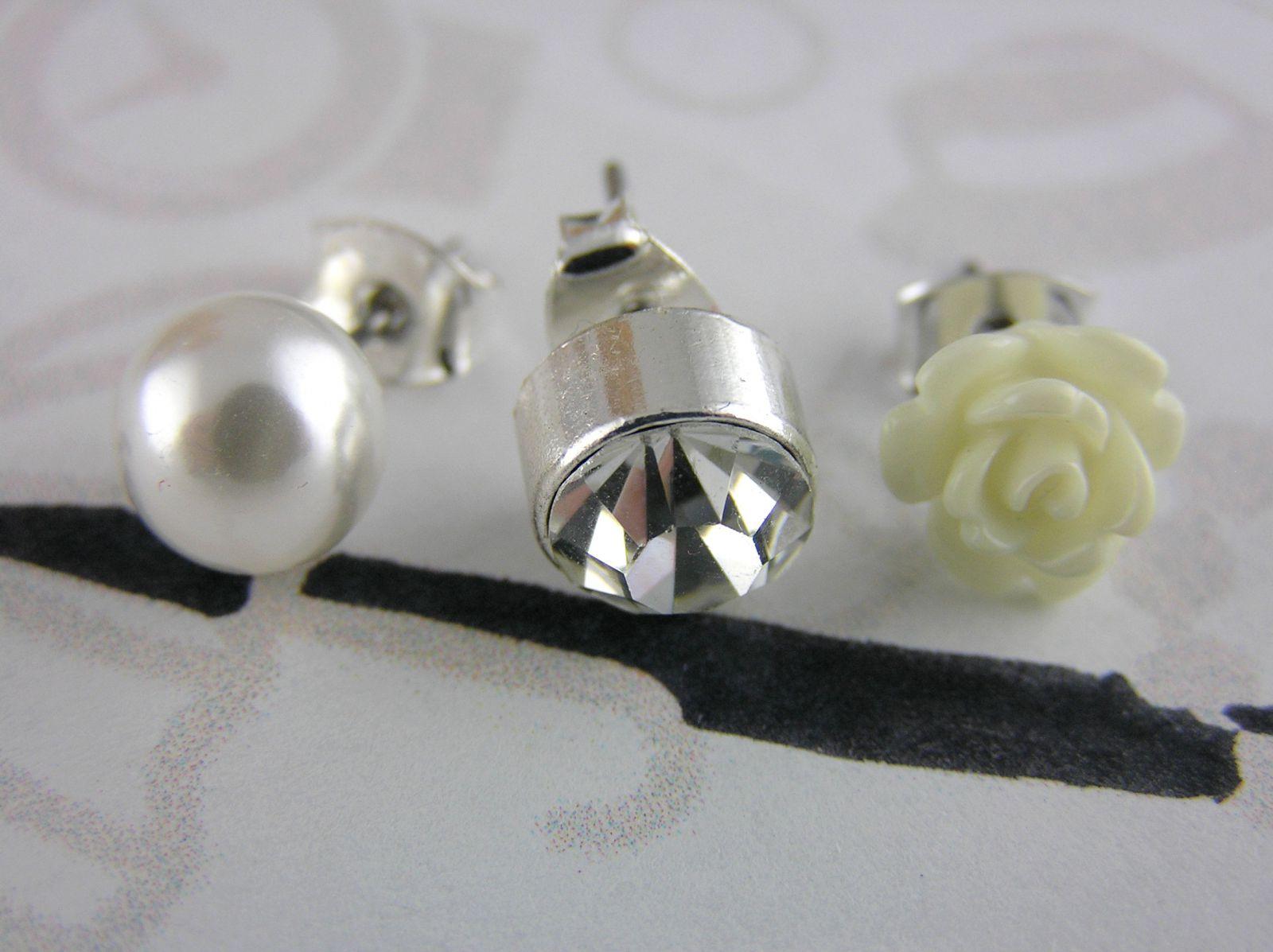 Náušnice Perličky, pecičky, růžičky GIIL