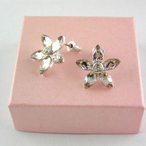 Růžové kamínkové kytičky, pecky