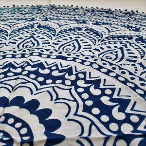 Šátek ve tvaru mandaly - velký květ GIIL