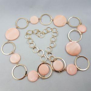 Meruňkový náhrdelník kruhy