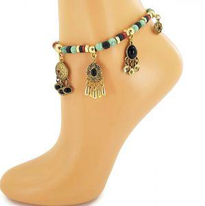 Náramek na nohu s gotickým zdobením GIIL