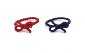 Prsteny Modrý a červený provaz